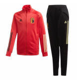 Adidas Belgi? trainingspak 2020-2022 kids zwart