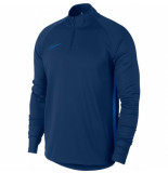 Nike Academy dry drill top coastal blue blauw