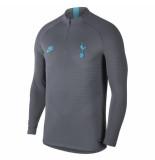 Nike Tottenham hotspur vaporknit drill top grey zwart