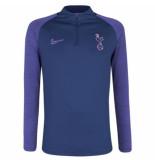 Nike Tottenham hotspur drill top 2019-2020 binary blue blauw