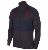 Nike Paris saint germain trainingsjack strike 2019-2020 grijs