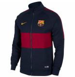 Nike Fc barcelona trainingsjack i96 obsidian red blauw