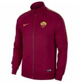 Nike As roma trainingsjack i96 2019-2020 team red rood