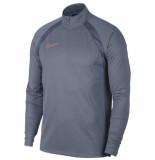 Nike Dry academy drill top smr armory blue blauw