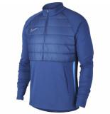 Nike Dry padded academy drill top coastal blue blauw