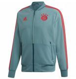 Adidas Bayern munchen trainingsjack 2018-2019 grey grijs