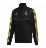 Adidas Real madrid trainingsjack 2019-2020 black zwart