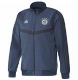 Adidas Bayern munchen trainingsjack 2019-2020 marine blauw