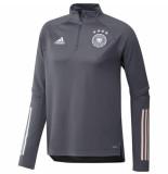 Adidas Duitsland trainingstop 2020-2022 grijs