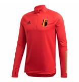 Adidas Belgi? trainingstop 2020-2022 rood
