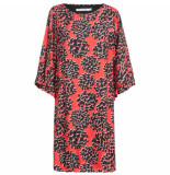 Summum 5s987-10664 dress fantasy flower print 348-flame red
