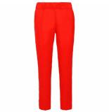 Summum 4s1831-10885 summer / trousers crepe viscose rood