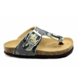 Kipling Ricardo 5 slipper grijs