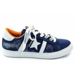 Vingino Tiziano star. sneaker blauw