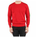 ICEBERG Round neck knitted rood