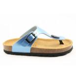 Emma 8720 slipper blauw