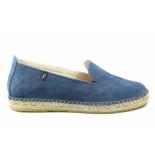 Fabiolas 107600. espadrille blauw