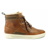 Bjorn Borg Collin high. hoge veterschoen cognac