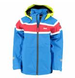 Helly Hansen Kobalt zeiljas k salt jacket met fluoriserend gele muts blauw