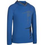 Icebreaker Junior bodyfit 200 l/s hoody skater blauw