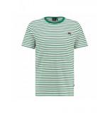 Kultivate ts sneaker stripe groen