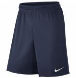 Nike Park ii knit short wb blauw