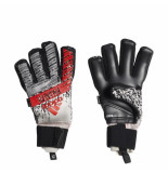 Adidas Keepershandschoenen predator pro fingersave silver zilver