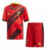 Adidas België thuis set mini 2020-2022 rood