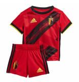 Adidas België thuiss set baby 2020-2022 rood