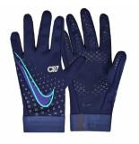 Nike Handschoenen cr7 hyperwarm blue void