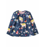 Oilily Bonic blouse 55 farm- blauw
