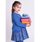 Oilily Kikido knitted cardigan 54 blocks- blauw