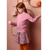 Oilily Hassa sweater 33 heart quilted solid- roze
