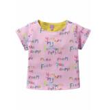 Oilily Roze sweatshirt met tekstprint in little artist style-