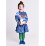 Oilily Harleti sweater 54 and white stripes- blauw