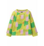 Oilily Sweatshirt met kleurrijke print- geel