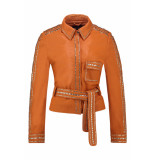 IBANA Blazer stephanie burnt orange oranje