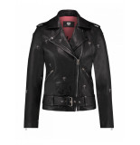 Catwalk Junkie JK Biker Palm Leather Jacket