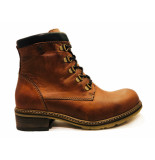 Wolky Veterboots ronda softy wax bruin
