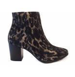 Paul Green Laarsje gheopardo taupe zwart