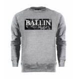 Ballin Est. 2013 Camo grey sweater grijs