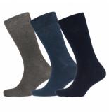 Campbell 3 paar sokken-assortie licht zwart