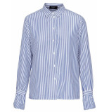 Sisters Point Blouse vopo stripes blue blauw