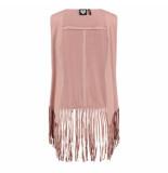 Catwalk Junkie Gilet cowgirl roze