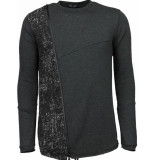 Enos Long tee zipper sweater