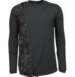 Enos Long tee zipper sweater