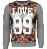 Enos Sweater grijs