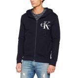 Calvin Klein Zip hood blauw