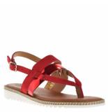BTMR Dames sandalen rood