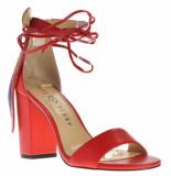 Katy Perry Sandalen op hak rood